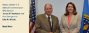 Newly-elected U.S. AbilityOne Commission Chairperson James M. Kesteloot and Vice Chairperson Lisa M. Wilusz